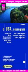 United States, New England by Reise Know-How Verlag