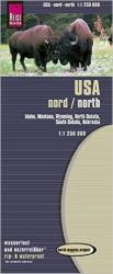 United States, Northern by Reise Know-How Verlag