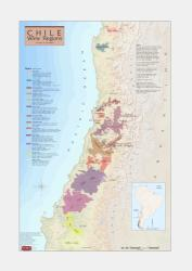 Chile, Wine Regions by Vinmaps