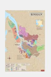 France, Bordeaux, Wine Region by Vinmaps