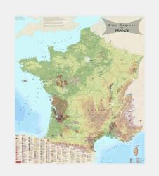 France, Wine Regions by Vinmaps