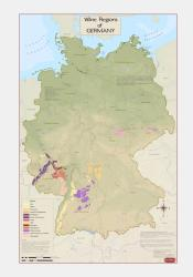 Germany, Wine Regions by Vinmaps