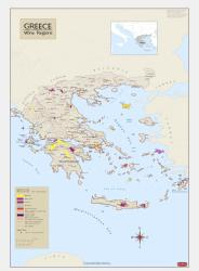 Greece, Wine Regions by Vinmaps