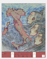 Italy, Tre Donne, Artisan Series by Vinmaps