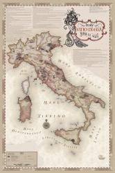 Italy, Vino di Eta, Artisan Series, with Mermaid by Vinmaps