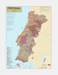 Portugal, Wine Regions by Vinmaps