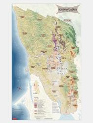 Sonoma County, California, Wine Regions by Vinmaps