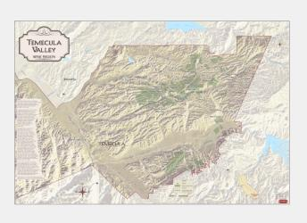 Temecula Valley, California, Wine Regions by Vinmaps