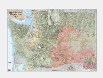 Washington, Viticultural and Winery Areas by Vinmaps