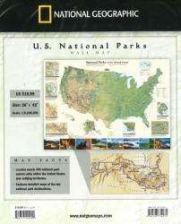 National Parks of the United States by National Geographic Maps