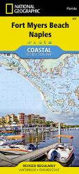 Fort Myers Beach/Naples, Florida, Map 407 by National Geographic Maps