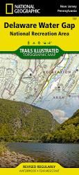 Delaware Water Gap, Map 737 by National Geographic Maps