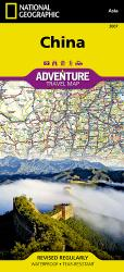 China Adventure Map 3007 by National Geographic Maps