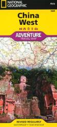 China, West Adventure Map 3009 by National Geographic Maps