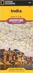 India Adventure Map 3011 by National Geographic Maps
