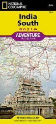 India, South Adventure Map 3014 by National Geographic Maps