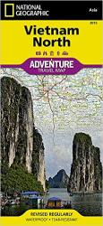 Vietnam, North, Adventure Map, Map 3015 by National Geographic Maps