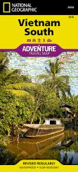 Vietnam, South Adventure Map 3016 by National Geographic Maps