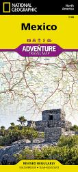 Mexico Adventure Map 3108 by National Geographic Maps