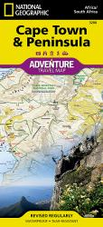 Cape Town and Peninsula, South Africa AdventureMap by National Geographic Maps