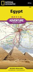 Egypt Adventure Map 3202 by National Geographic Maps