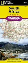 South Africa Adventure Map 3204 by National Geographic Maps