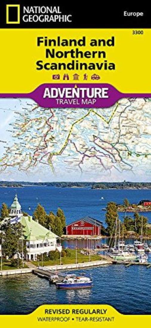 finland map 754 maps country michelin