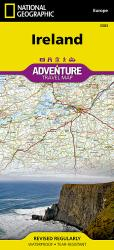 Ireland Adventure Map 3303 by National Geographic Maps