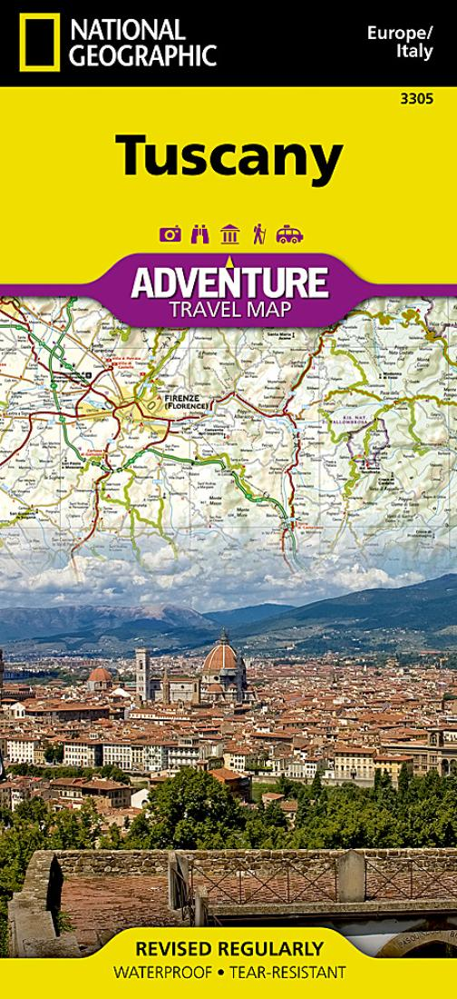 Tuscany italy adventure map 3305 by national geographic maps gumiabroncs Images