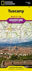 Tuscany, Italy Adventure Map 3305 by National Geographic Maps