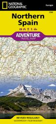Spain, Northern, Adventure Map 3306 by National Geographic Maps