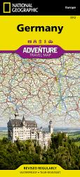 Germany Adventure Map 3312 by National Geographic Maps