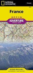 France Adventure Map 3313 by National Geographic Maps