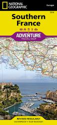 France, Southern Adventure Map 3314 by National Geographic Maps