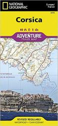 Corsica, France Adventure Map 3315 by National Geographic Maps