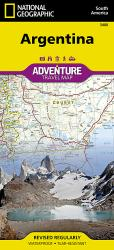 Argentina Adventure Map 3400 by National Geographic Maps