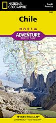 Chile Adventure Map 3402 by National Geographic Maps