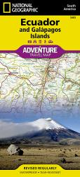 Ecuador and Galapagos Adventure Map 3403 by National Geographic Maps