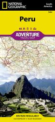 Peru Adventure Map 3404 by National Geographic Maps