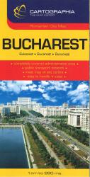Bucharest, Romania, large scale by Cartographia