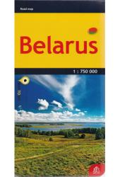 Belarus Road Map 1:750,000 by Jana Seta
