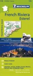 French Riviera, Zoom Map (115) by Michelin Maps and Guides