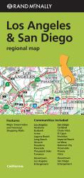 Los Angeles and San Diego, California Regional by Rand McNally