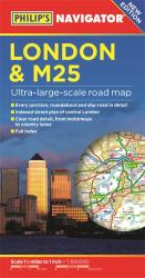 Philip's London and M25 Navigator Road Map by Philip's
