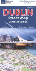 Dublin Street Map: Compact Edition by Ordnance Survey (Ireland)