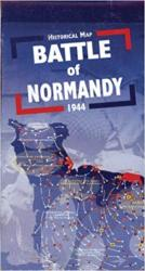 Battle of Normandy Historical Map by OREP editions
