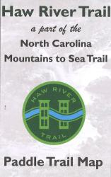 Haw River Trail: Paddle Trail Map by The Haw