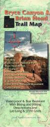 Bryce Canyon and Brian Head, Trail Map by Adventure Maps