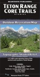 Teton Range Core Trails map