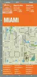 Miami, Bilingual City Map by deDios